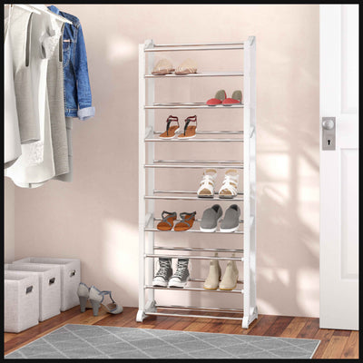 Solemate™ Portable Shoe Rack Organizer