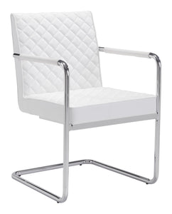 Quilt Dining Chair White - Dining