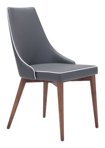 Moor Dining Chair Dark Gray - Dining