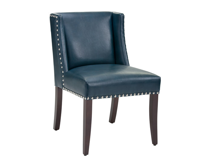 MARLIN DINING CHAIR - NOBILITY BLUE - Dining Chairs
