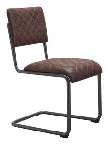 Father Dining Chair Vintage Brown - Dining