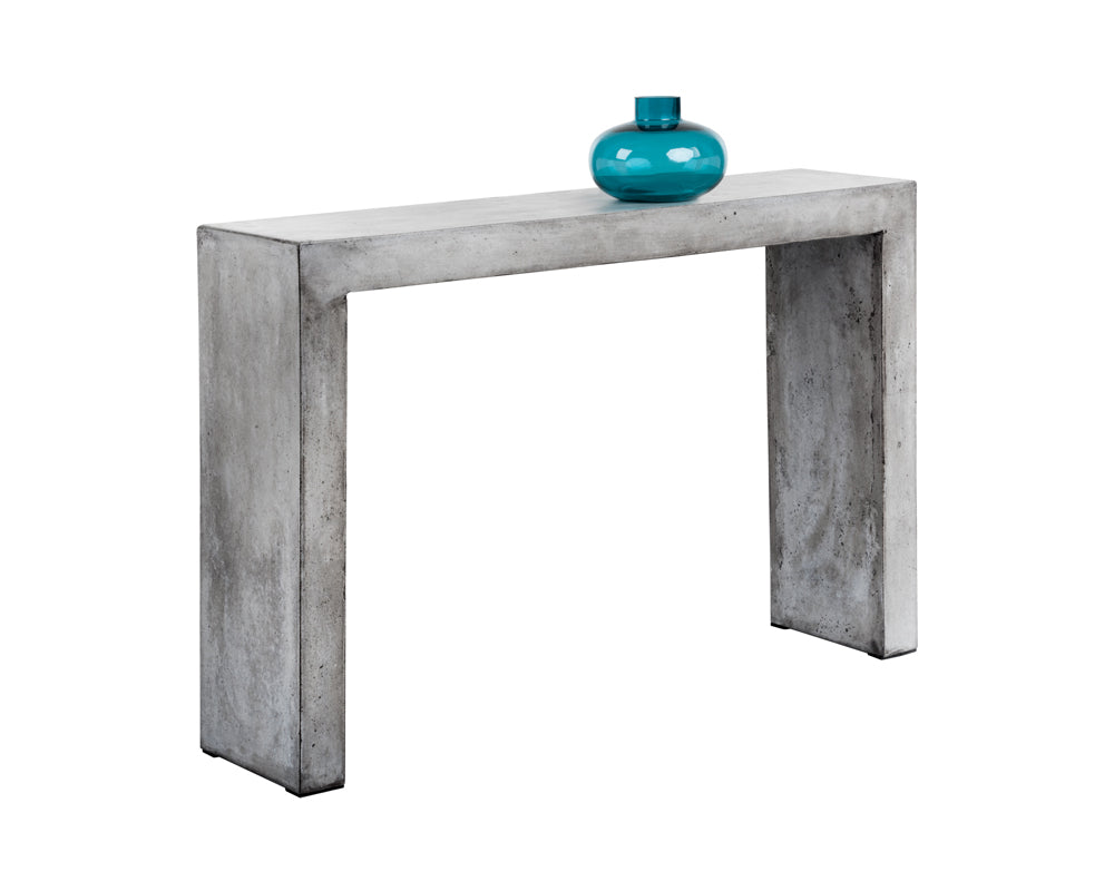 AXLE CONSOLE TABLE - GREY - Console Tables
