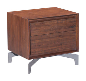 Perth End Table Chestnut - Bedroom