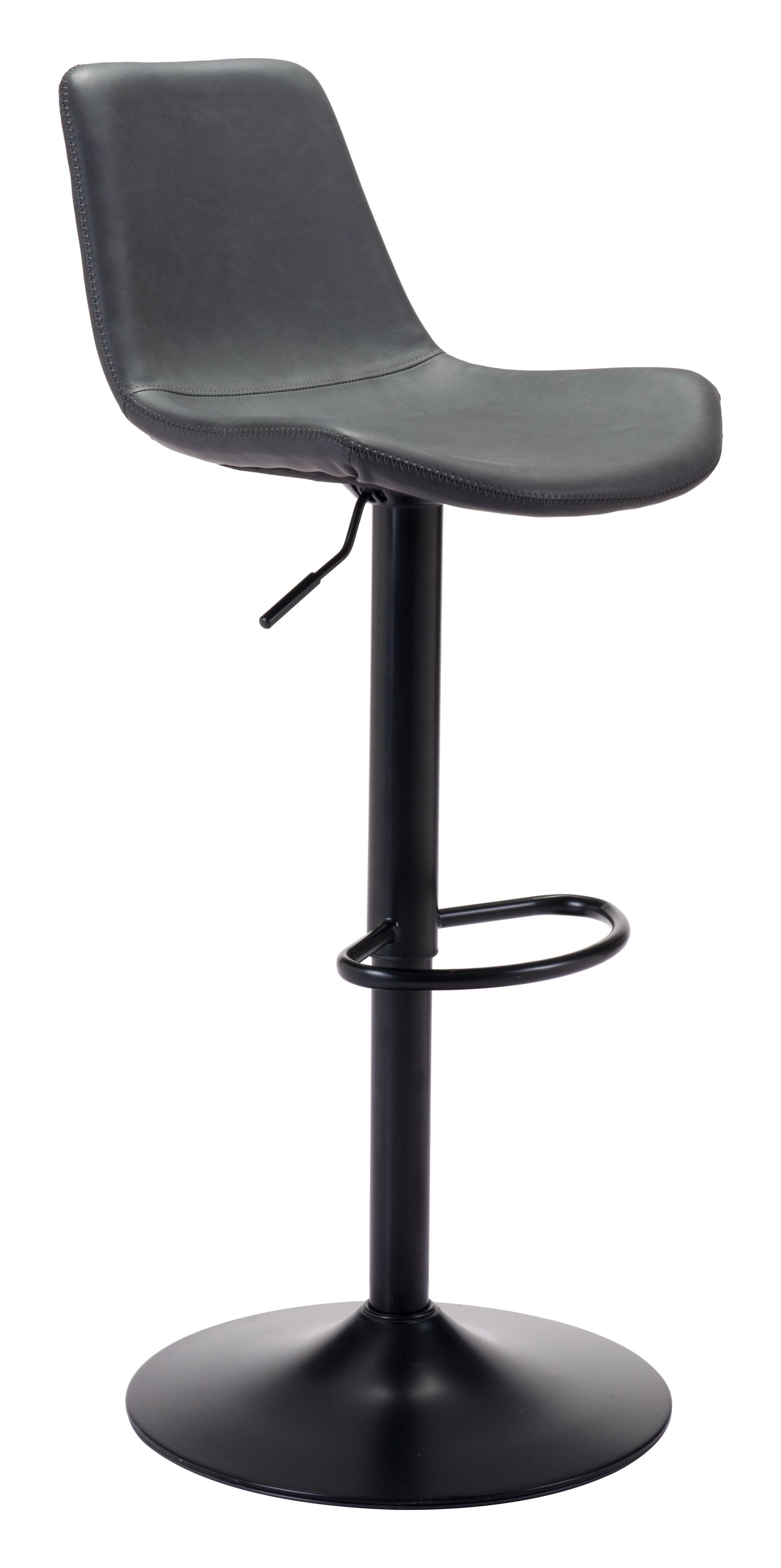 Lakeshore Bar Chair Vintage Dark Gray - Bar