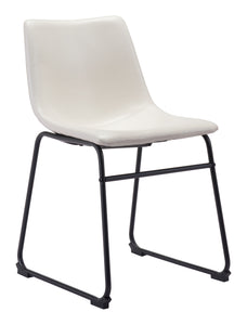 Smart Dining Chair Distressed White - Dining