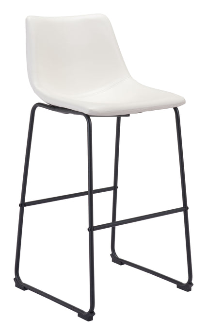 Smart Bar Chair Distressed White - Bar