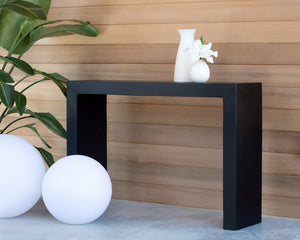 AXLE CONSOLE TABLE - BLACK - Console Tables