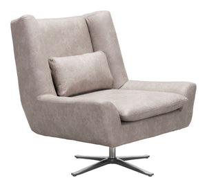 Enzo Occasional Chair Distressed Gray - Living