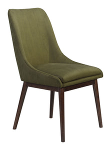 Ashmore Dining Chair Emerald Green - Dining