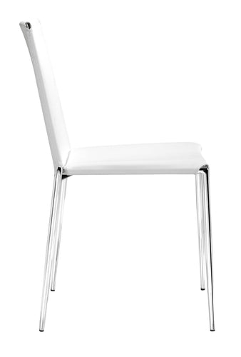 Alex Dining Chair White