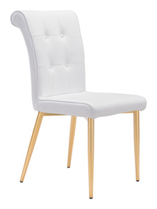 Niles Dining Chair White - Dining