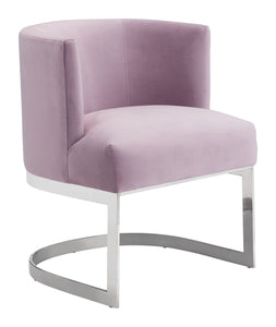 Artist Occasional Chair Pink Velvet - Living