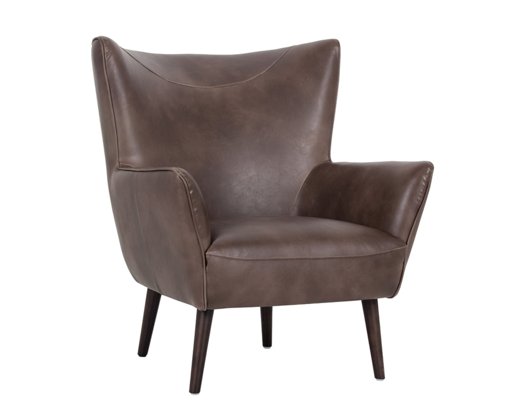 LUTHER OCCASIONAL CHAIR - HAVANA DARK BROWN - Occasional