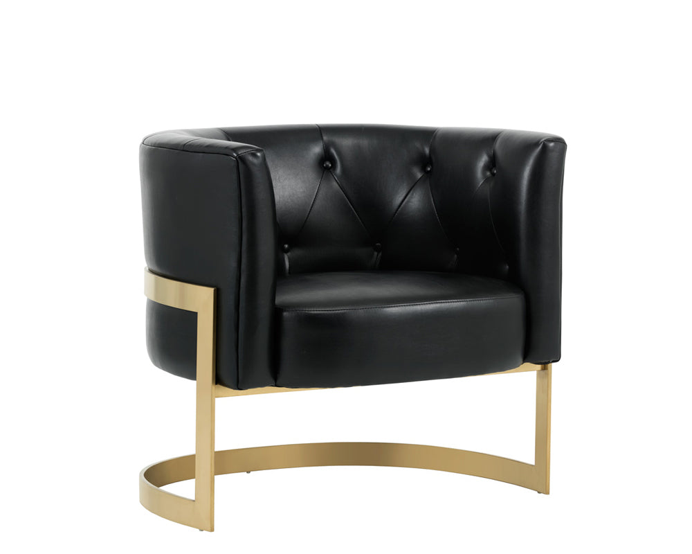 KARISSA CLUB CHAIR - NOBILITY BLACK - Occasional Chairs