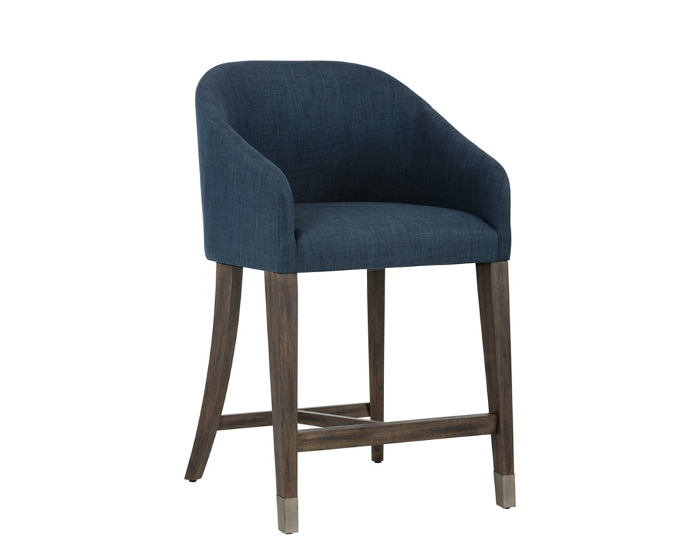 NELLIE COUNTER STOOL - ARENA NAVY - Counter Stools