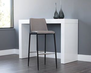 RENEE BARSTOOL - DARK SLATE / ARMOUR GREY - Barstools