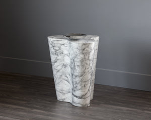 AVA END TABLE - LARGE - MARBLE LOOK - End Tables