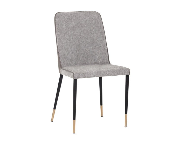 KLAUS DINING CHAIR - FLINT GREY / NAPA TAUPE - Dining Chairs