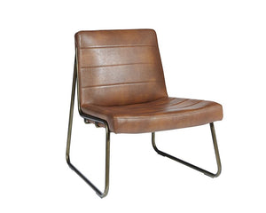 Anton Lounge Chair - Bravo Cognac