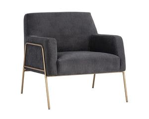 Cybil Lounge Chair - Polo Club Kohl Grey