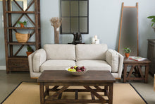 ALFRESCO SIDE TABLE - SMOKEY BROWN