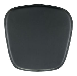 Wire/Mesh Chair Cushion Black - Dining