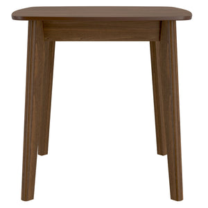 Alder Square Dining Table in Walnut