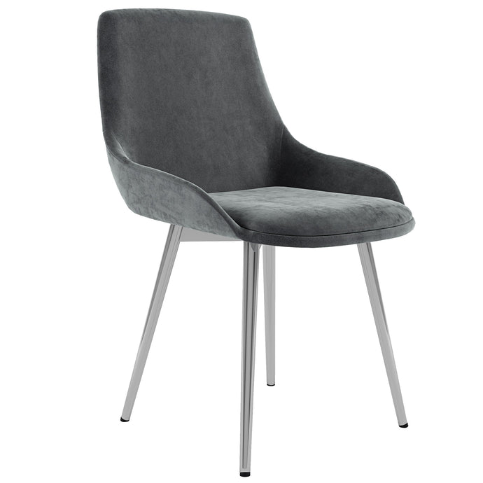 Cassidy Side Chair, set of 2 in Grey Price shown for each - Min Order  2PK