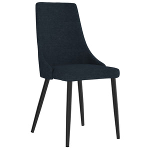 Venice Side Chair set of 2 in Blue Price shown for each -