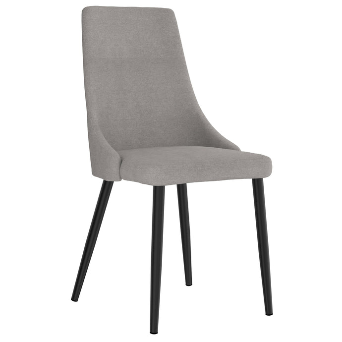 Venice Side Chair, set of 2 in Grey Price shown for each - Min Order  2PK