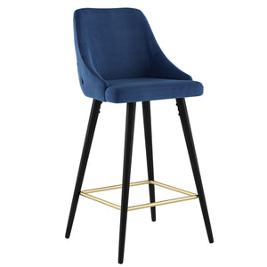 Roxanne II 26'' Counter Stool set of 2 in Blue Price shown