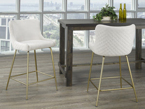 GISELLE-26 COUNTER STOOL-BEIGE Price shown for each - Min