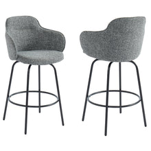 COLANI-26'' COUNTER STOOL-GREY Price shown for each - Min