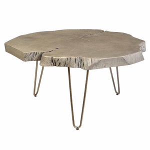 NILA-COFFEE TABLE-LIGHT GREY - ACCENT FURNITURE