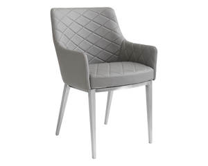 CHASE ARMCHAIR - GREY - Dining Chairs