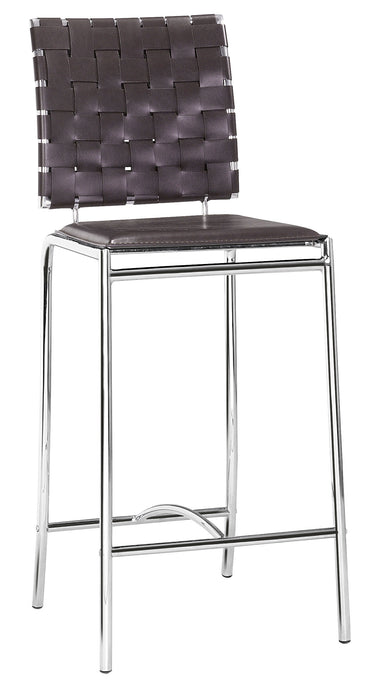 Criss Cross Counter Chair Espresso - Bar