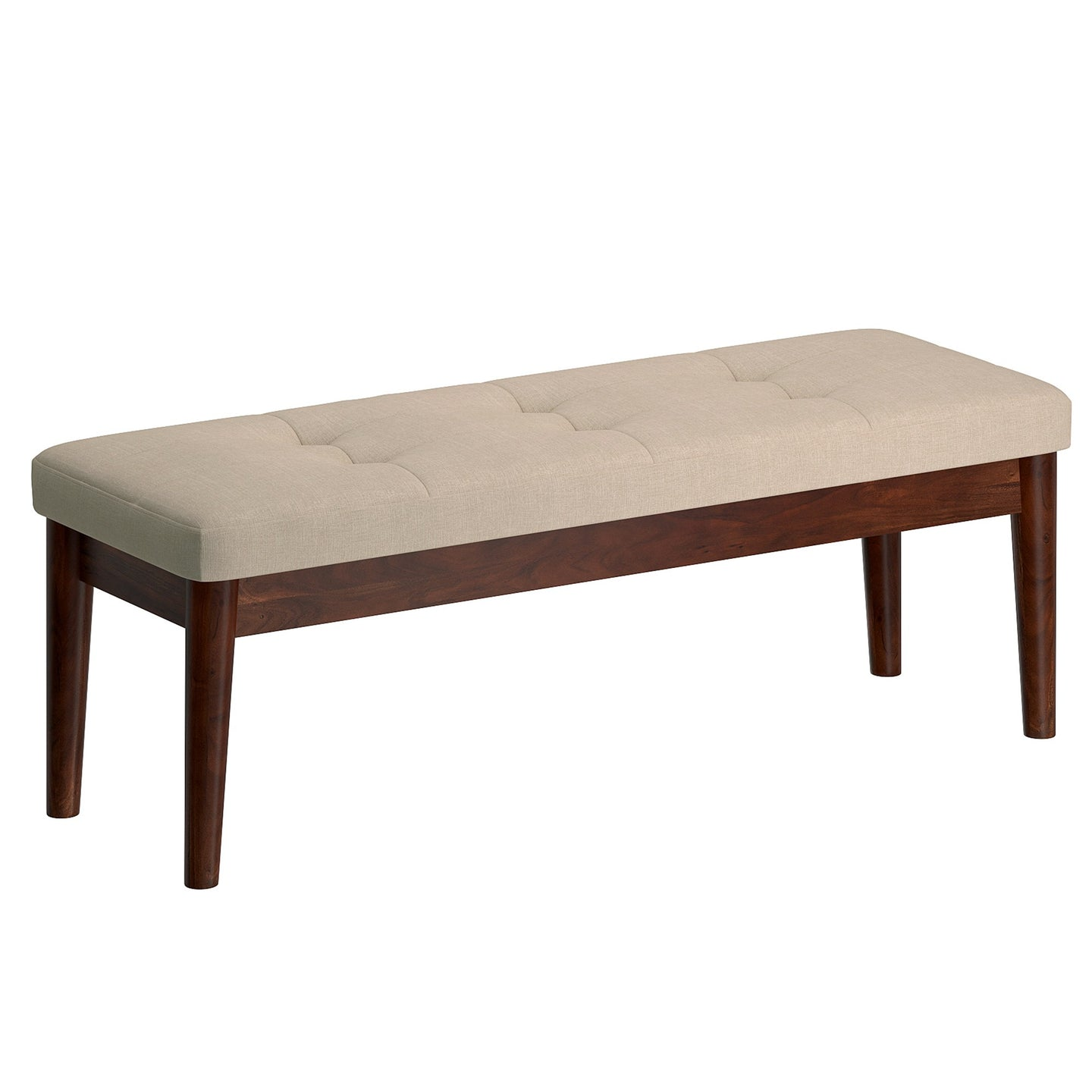 Leanne Bench in Beige