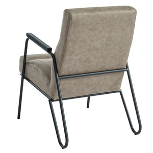 PARADOR-ACCENT CHAIR-VINTAGE BROWN - ACCENT SEATING