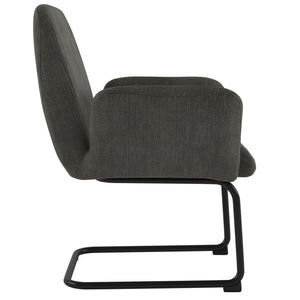 Vingo Accent Chair in Charcoal