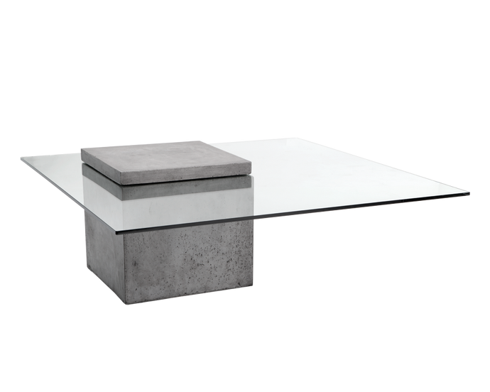 GRANGE COFFEE TABLE - SQUARE - ANTHRACITE GREY - Coffee