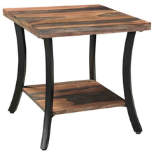 SURIN-ACCENT TABLE-NATURAL/GREY 2-TONE - ACCENT FURNITURE