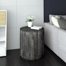 EVA-ACCENT TABLE-DISTRESSED GREY - ACCENT FURNITURE