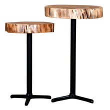 KEYA-SET OF 2 ACCENT TABLE-NATURAL - ACCENT FURNITURE