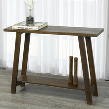 VOLSA-CONSOLE TABLE-WALNUT - ACCENT FURNITURE