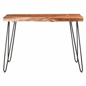 NILA-CONSOLE TABLE-NATURAL - ACCENT FURNITURE
