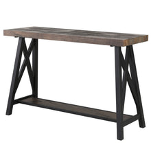 LANGPORT-CONSOLE TABLE-RUSTIC OAK - ACCENT FURNITURE