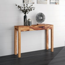 IDRIS-CONSOLE TABLE-DARK SHEESHAM - ACCENT FURNITURE