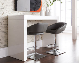 FARO COUNTER TABLE - HIGH GLOSS WHITE - Counter Tables