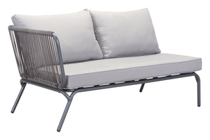 Pier Laf Double Seat Gray - Lounge + Coffee + Side