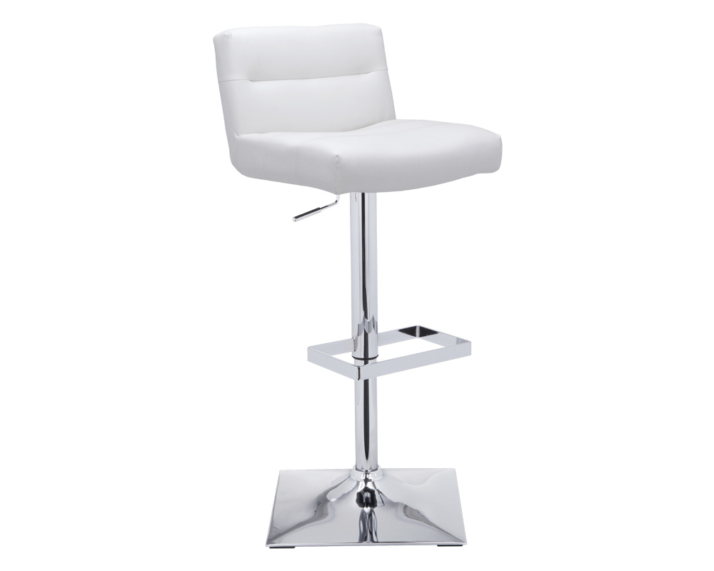 STAFFORD ADJUSTABLE STOOL - SNOW - Adjustable Stools